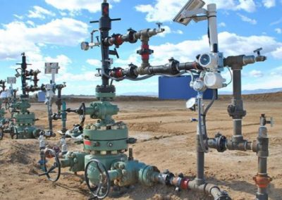 Wireless Wellhead Automation