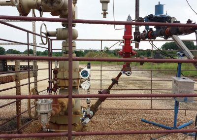 Oil well tree automation using wireless pressure transmitter