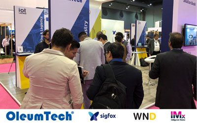 OleumTech® Exhibits with Sigfox and WND at the Inteligencia Mexico Conference