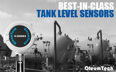 Best-in-Class Automatic Tank Level Sensors from OleumTech
