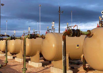 Industrially hardened Pressure Gauges monitor pressure on separators