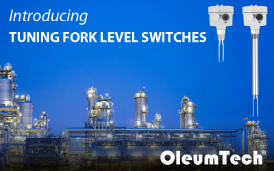 OleumTech® Adds Tuning Fork Level Switches to the H Series Instrumentation Product Line