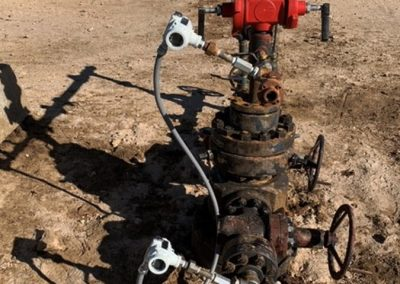 wellhead monitoring using smart pressure transmitters