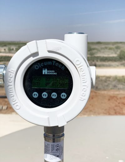Tank Level Sensor with LCD interface