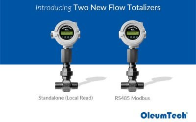 OleumTech® Adds Two Flow Totalizer Models to Its H Series Portfolio
