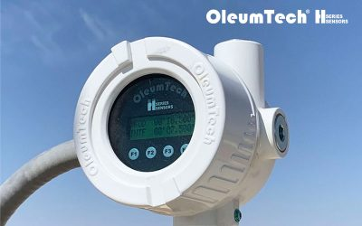 OleumTech® H Series Modbus Level Transmitter Now Available with Local Display