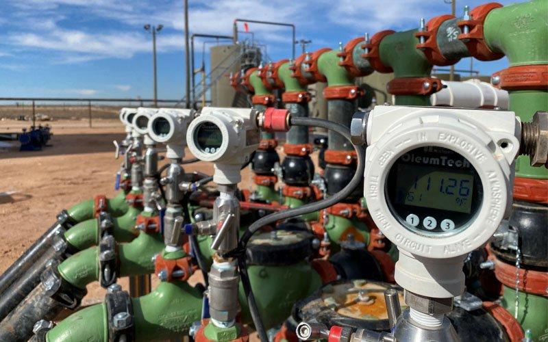 Flowline Header Pressure Monitoring